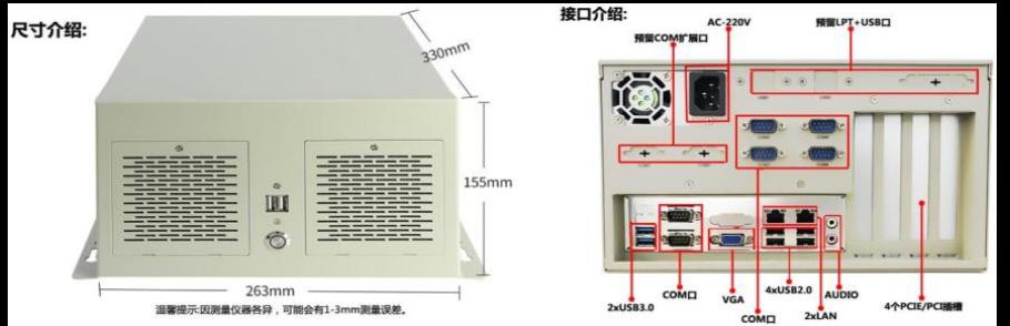 紧凑型壁挂式工控机(FX-440)-4U工控机-机架式工控机厂家-1U,2U,3U,4U机架式工控机-复兴通信