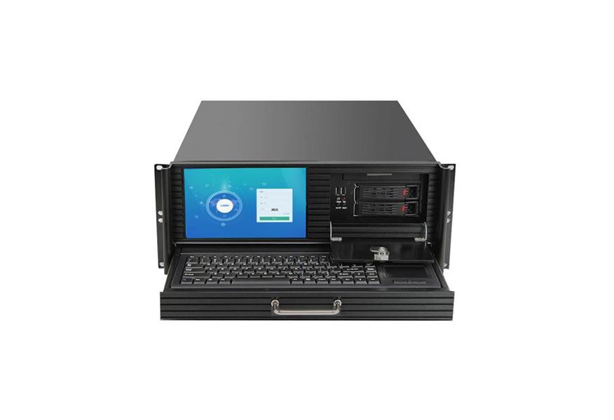 [:zh]4U机架式工控机(FX-810P)带8.9寸LED屏+鼠键[:]