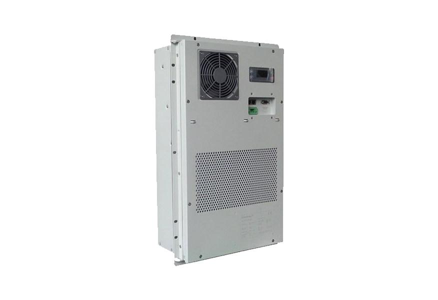 1000W加热制冷空调-<p>户外智能一体化恒温恒湿 半嵌入式机柜空调 带加热功能工业空调</p> -物联网可控电源